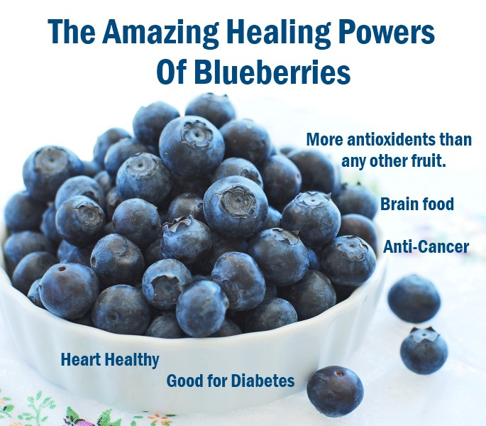 Photo of The Amazing Healing Power of Blueberries