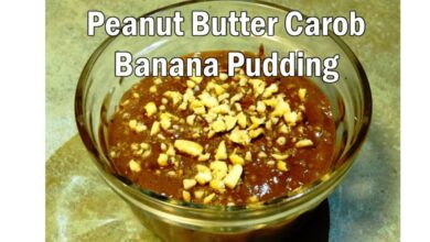 Photo of Carob Banana Pudding with Peanut Butter is So Yummy
