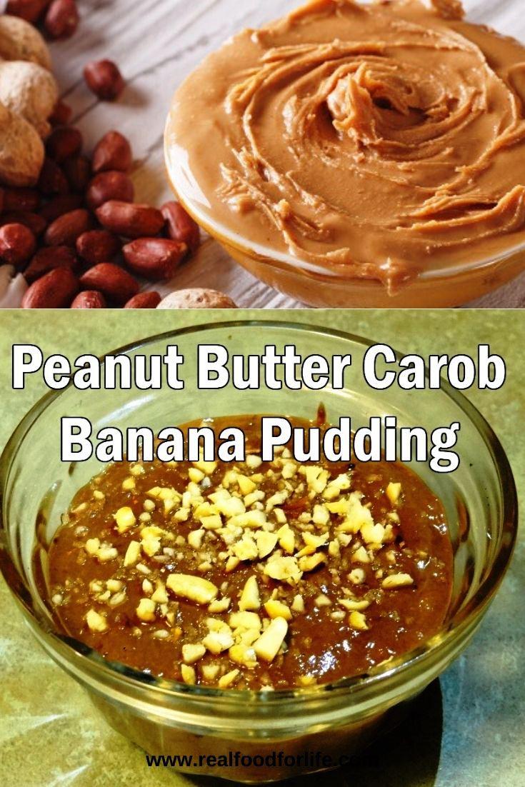 Carob Banana Pudding