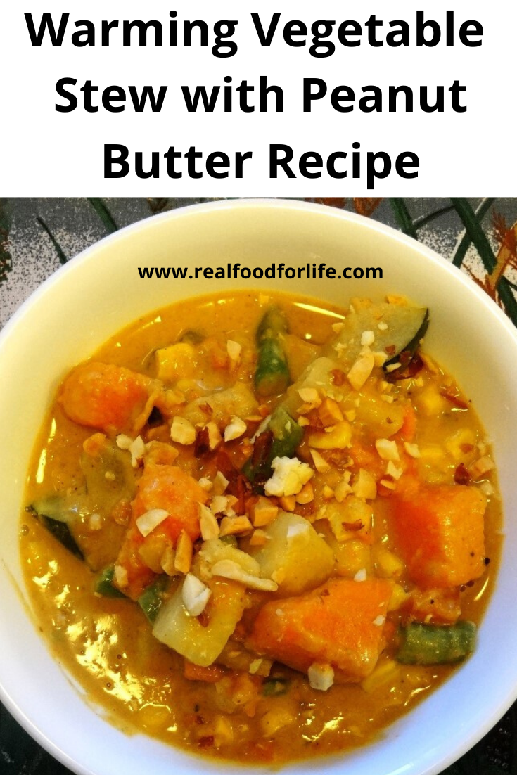 Vegetable Stew with Peanut Butter