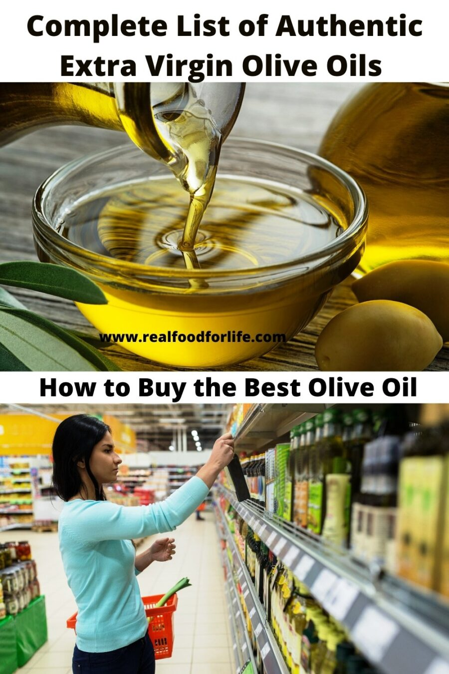 Authentic Virgin Olive Oils