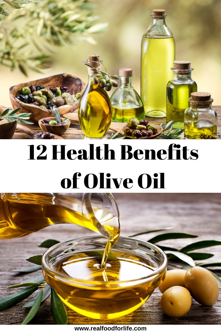 12 health benefits of olive oil with infographic - real food