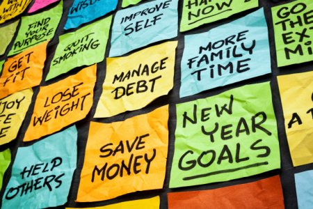New years resolutions many 450
