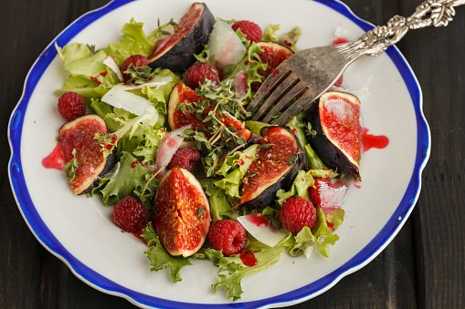 Photo of Mixed Green Salad with Figs