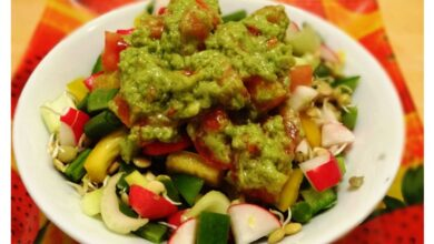 Photo of Avocado Tomato Salad Dressing For a Delicious Salad