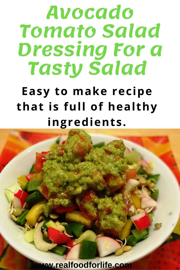 Avocado Salad Dressing