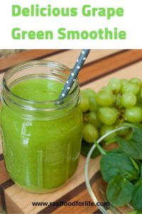 grape green smoothie