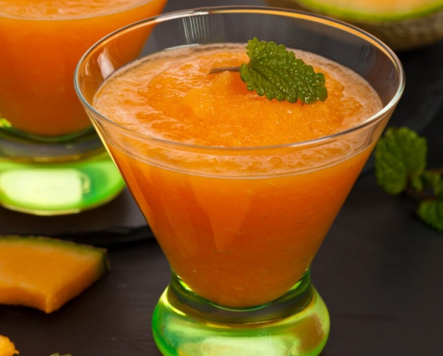 Photo of Sweet Cantaloupe Smoothie For a Hot Day