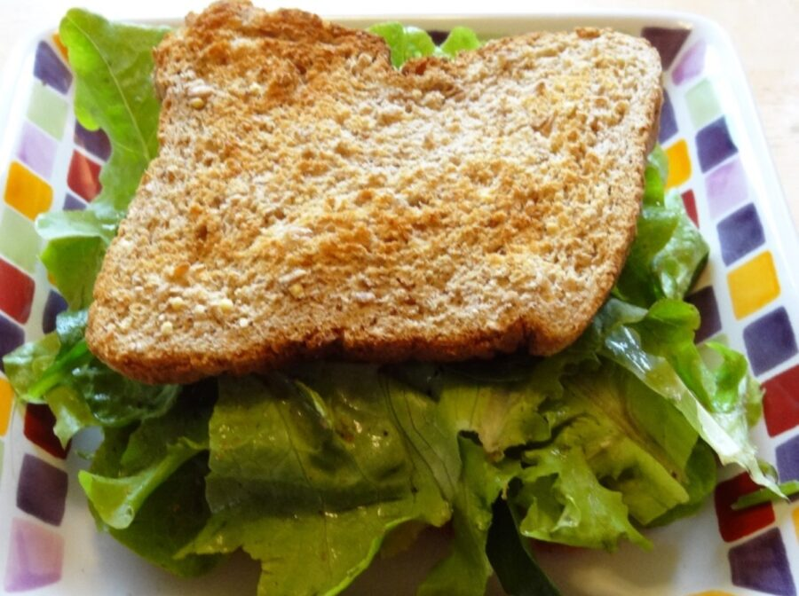 Photo of Surprisingly Delicious Lettuce Sandwich
