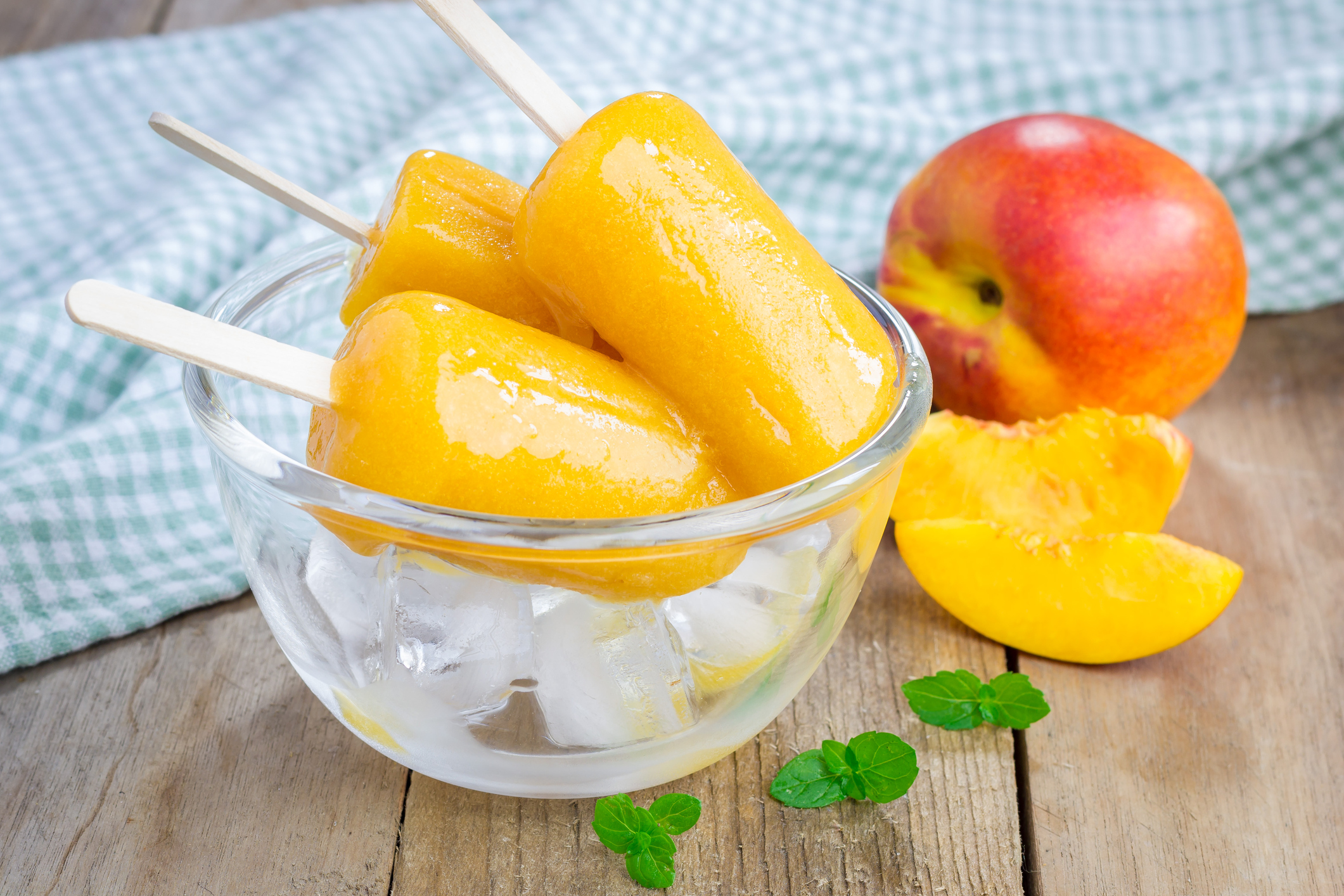 Photo of Cool Sweet Peaches and Cream Popsicles (Dairy-free)