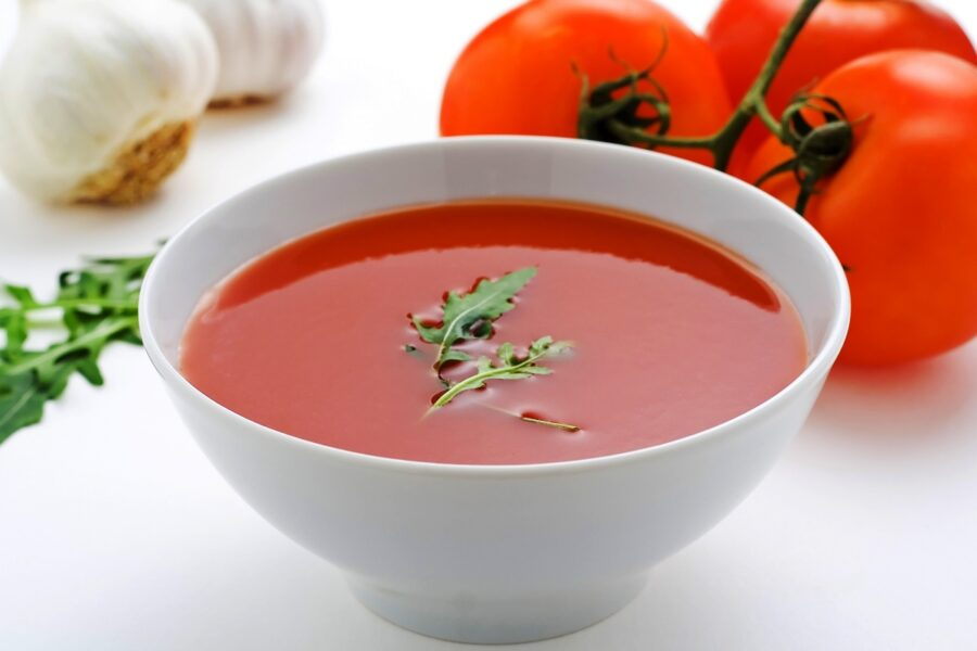 Photo of Enjoy a Cool Tomato Soup On a Hot Summer Day