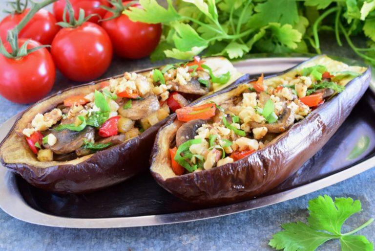 Stuffed Eggplant