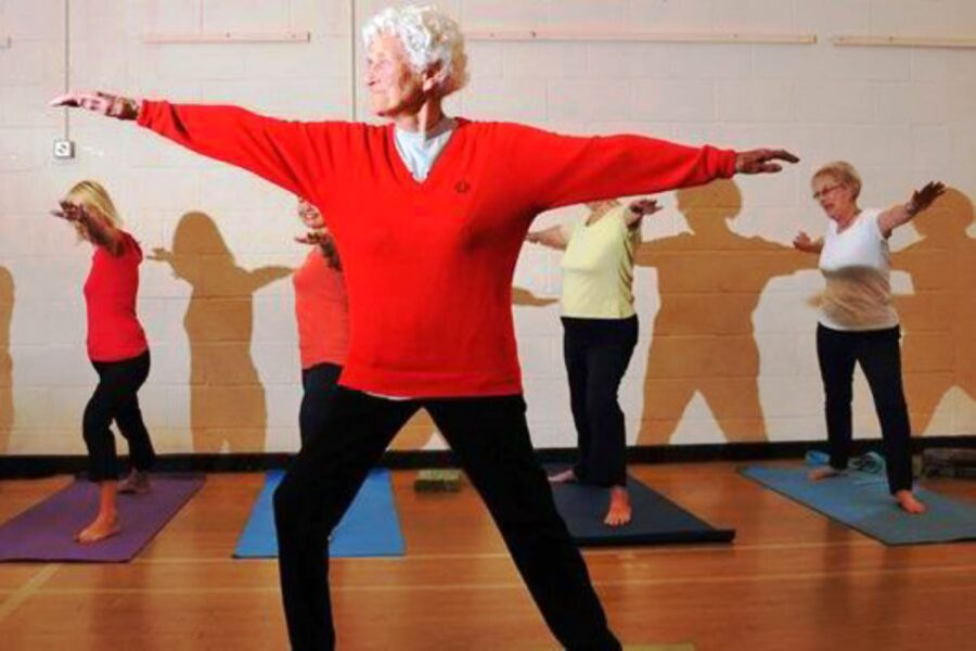 Photo of At 106 Years Old Eileen Ash Enjoys a Fun, Active Life