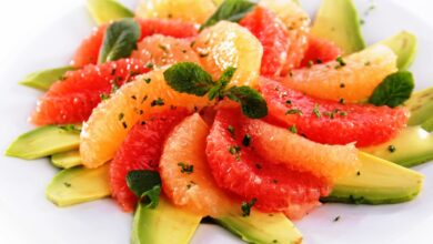 Photo of Grapefruit Salad with Avocado is Delicious and Beautiful