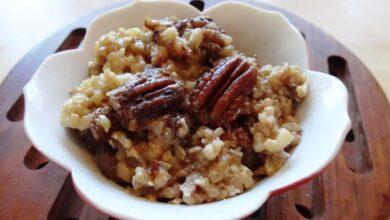 Photo of Millet Pecan Pudding Is Vegan, Sugar-free and GF