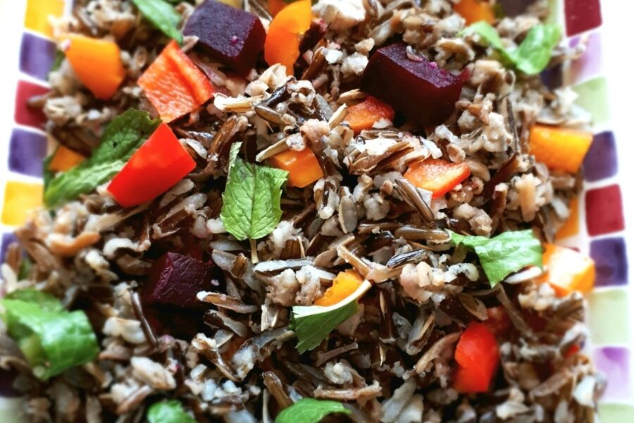 Photo of Delightfully Delicious Wild Rice Salad