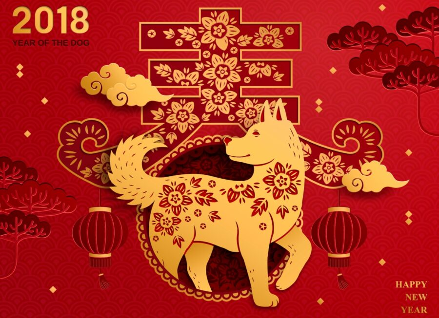 Photo of Chinese Year of the Lucky Prosperous Dog