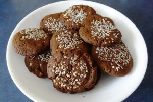 Molasses/Tahini Cookies
