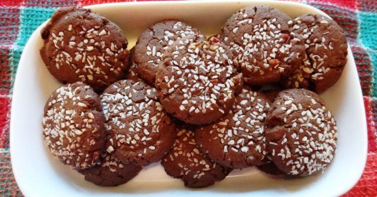 Molasses/Tahini Cookies