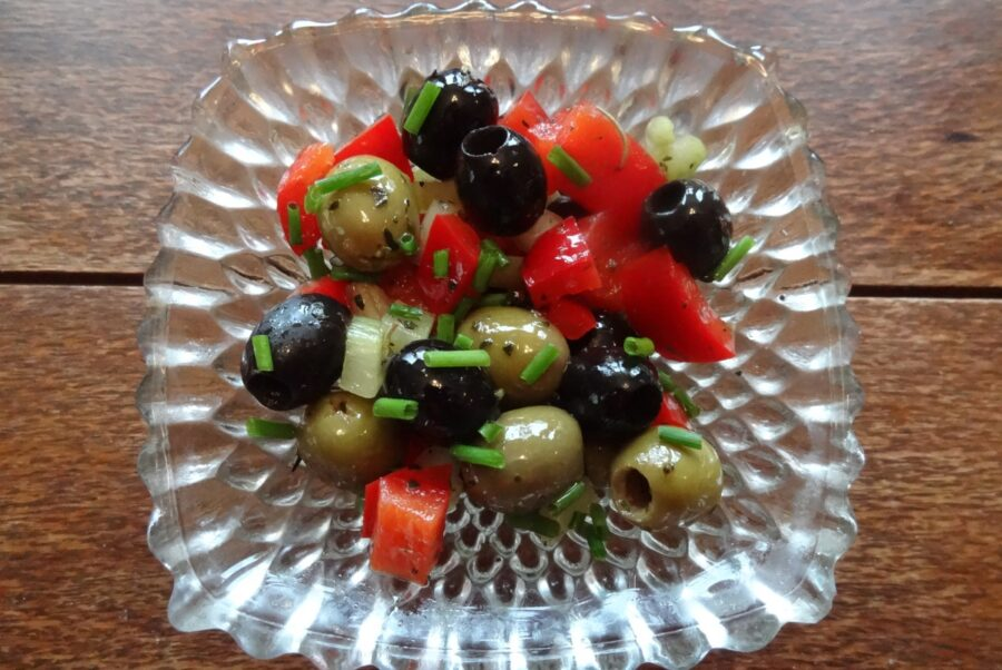 Photo of Tasty Olive Salad Appetizer for Your Meals and Parties