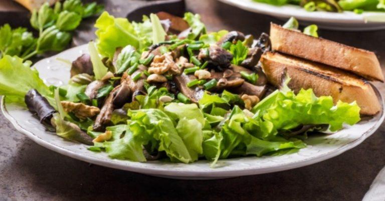 Shitake Mushroom Salad