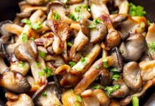 Photo of Quick Sautéed Shiitake Mushrooms with Fresh Herbs