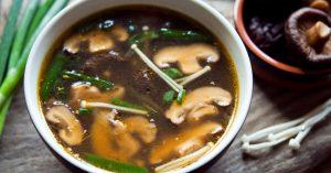 Shiitake Mushroom Miso Soup