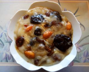 Prune Fruit Pudding