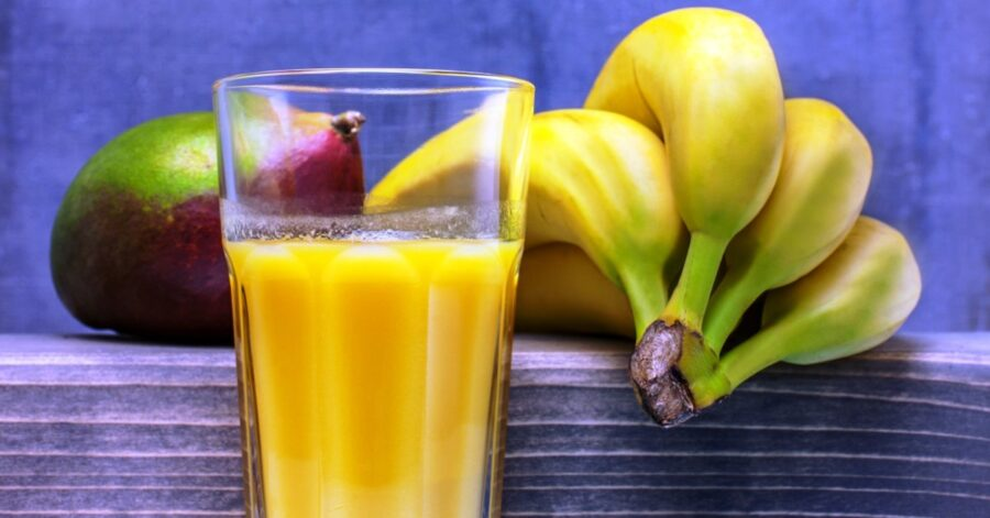 Photo of Sweet Mango Banana Smoothie for Breakfast or a Snack