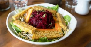 Tempeh Beet Salad