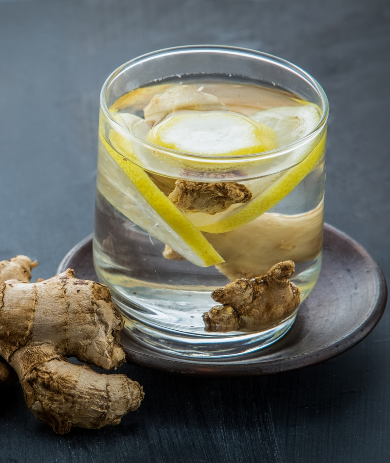 ginger tea is a great natural remedy for nausea