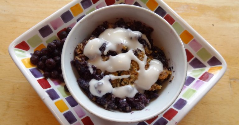 Wild Blueberry Grain-Free Crumble