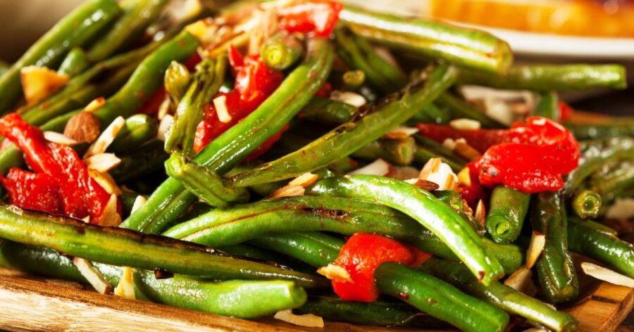 Photo of Crunchy Vegetables with Almonds and Savory Spices Recipe