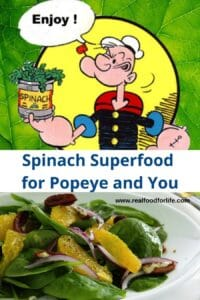 spring cleanse spinach salad popeye