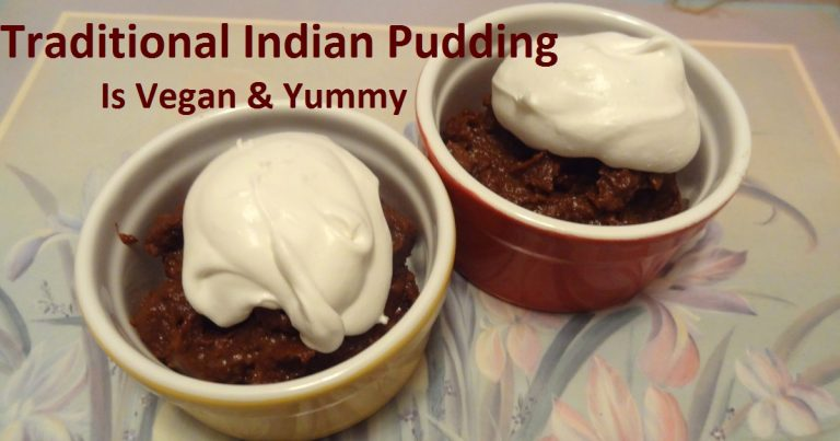 Indian Pudding vegan