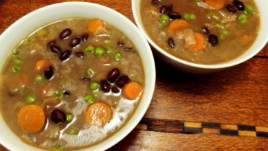 Photo of Black Bean Soup is Really Good For You On a Cold Day