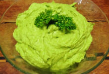 Photo of Green Hummus is Simple – Made with Love and Parsley