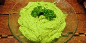 Green Hummus Parsley
