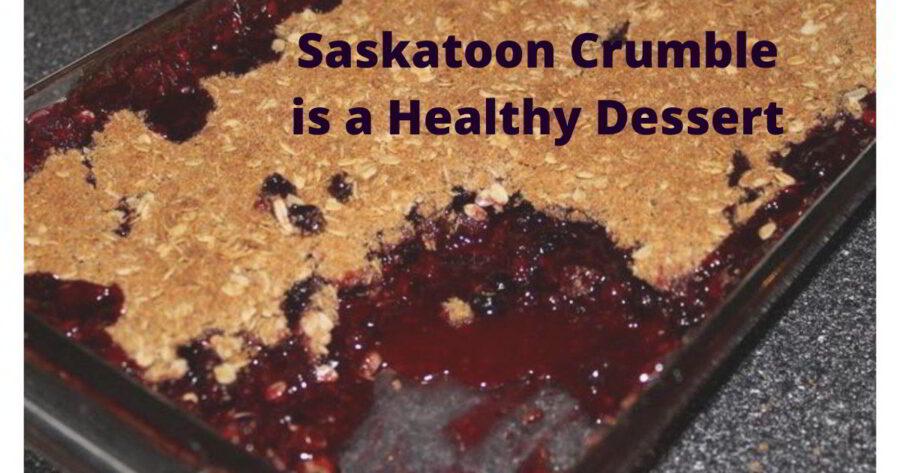 Saskatoon Crumble