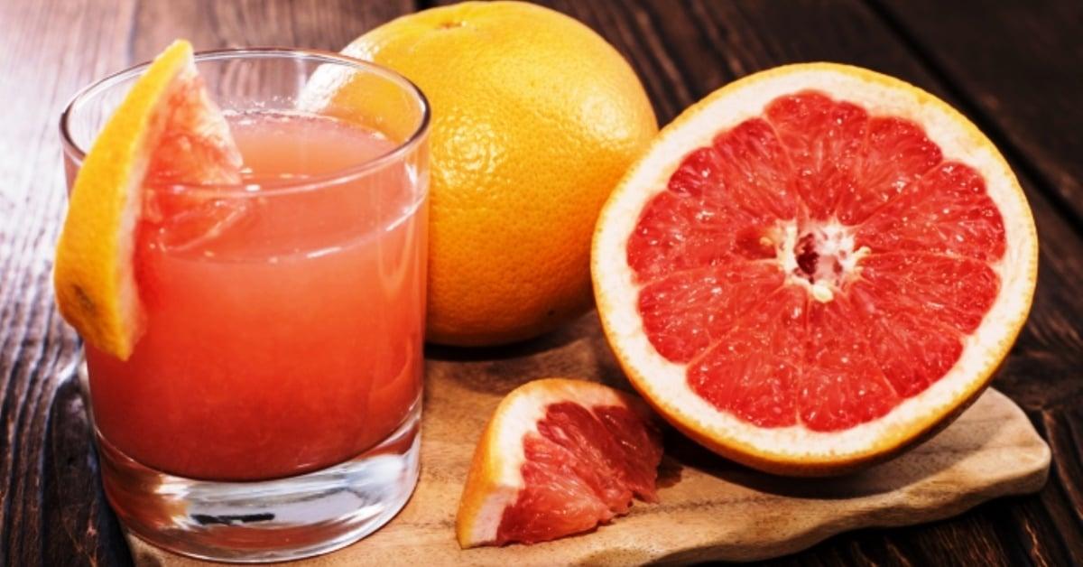 Homemade Grapefruit Juice