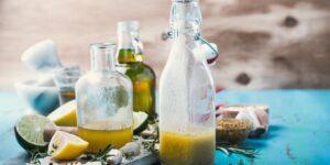 Olive Oil Lemon Juice Salad Dressing